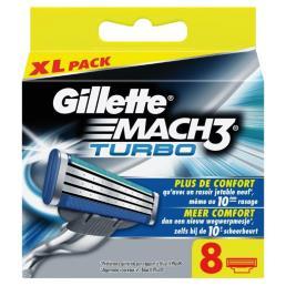 Gillette Mach III Turbo 8