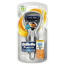 Gillette Fusion Proglide Flexball Chrome razor 1UP