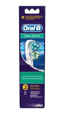 Oral B Dual Clean 2 pack