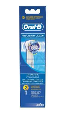 Oral B Precision Clean 2 pack