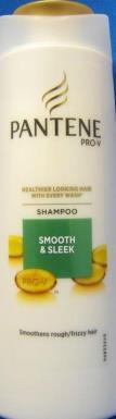 Pantene shampoo Smooth & Sleek 400ml